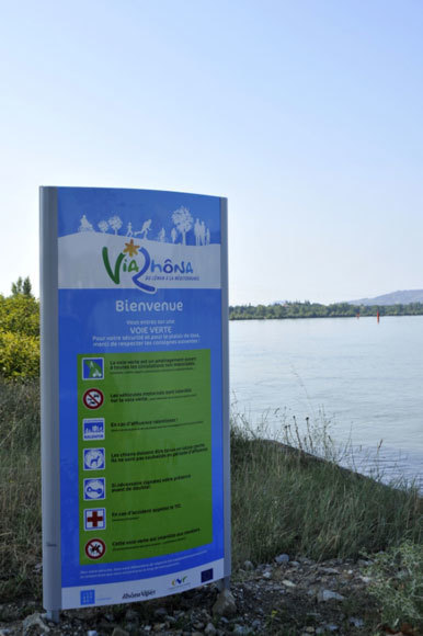 Balades au bord du Rhône - Rhône-Alpes Tourisme | ViaRhôna à vélo, du Léman à la Méditérranée | Scoop.it