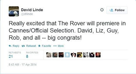 The Rover will premiere in Cannes! | Robert Pattinson Daily News, Photo, Video & Fan Art | Scoop.it
