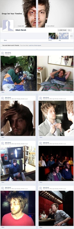 Facebook et la Double Vie d'un Drogué [Timeline]   Social Fuzz™   Identité numérique Web   Scoop.it