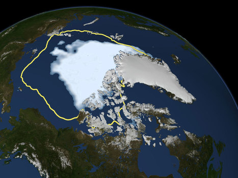 Arctic sea ice melted less in 2013, but climate change isn't slowing, NOAA says - CBS News | Let's sea ! | Scoop.it