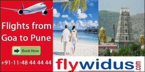 Fill up Your Journey with Pleasure by Booking Flights from Goa to Pune   Cheap Flight Tickets, Low Airfare Tickets, Cheap Air Ticket Booking - Flywidus   Scoop.it
