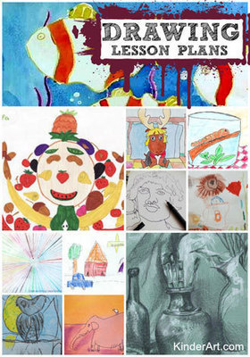 KinderArt.com - Art Lessons by Grade, Lesson Plans by Age, Craft Activities by Theme and Creative Ideas for Teachers, Parents, Homeschoolers and Children of All Ages | Embracing Creative Arts in the Classroom | Scoop.it