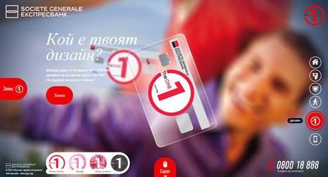 Nice #scrolling website from La Société Générale in Bulgaria | Digital Banks -Banques digitales | Scoop.it