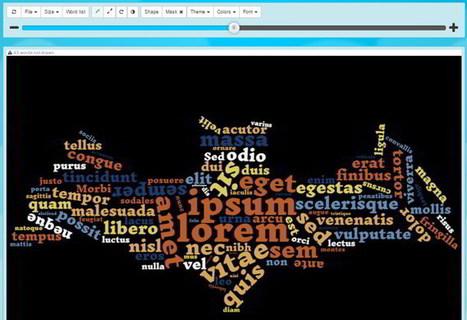 4 excelentes herramientas para crear nubes de palabras online | Aprendiendo a Distancia | Scoop.it