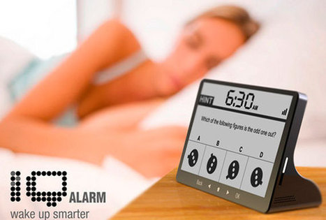 12 Best Alarm Clocks for Heavy Sleepers • The Endearing Designer • Tips, Tricks, Tutorials, Tools and More... | list of the best designed digital clocks | Scoop.it