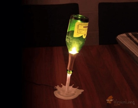Going to 3D print a bar light (beer pouring) | Winsion | Scoop.it