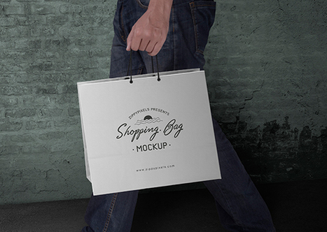 Free Shopping Bag Mockup PSD | ZippyPixels | Geeks | Scoop.it