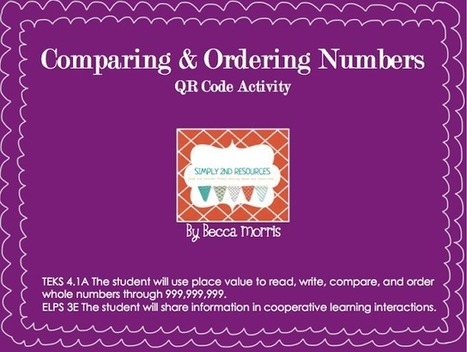 Simply 2nd Resources: FREE Place Value QR Code Activities | Math year 1 | Scoop.it