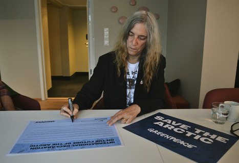 #Punk pioneer Patti Smith joins chorus of voices standing up for the #Arctic | Messenger for mother Earth | Scoop.it