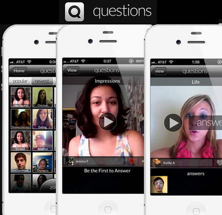 Questions App Lets You Ask And Answer Anything By Video | iGeneration - 21st Century Education | Scoop.it