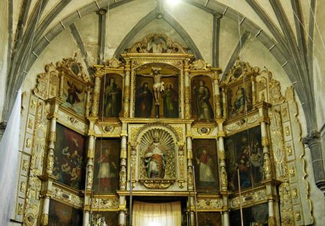 Obra novohispana del siglo XVI: restaura el INAH retablo centenario de Huaquechula, Puebla - Artes e Historia México | Mexico | Scoop.it