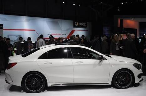 2014 Mercedes-Benz CLA45 AMG Wallpapers | Mercedes-Benz | Scoop.it