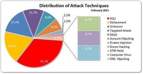 February 2013 Cyber Attacks Statistics | Information security | Scoop.it