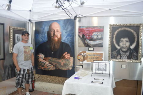 Jenks artist displays reality in his work - South County Leader | Exam work | Scoop.it