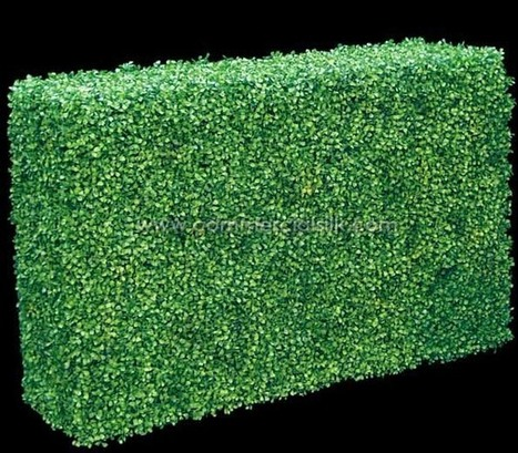 Outdoor Artificial Topiary - Boxwood Hedge 36 | Home Improvement - Landscaping | Scoop.it