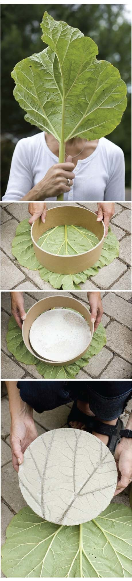 DIY stepping stones | Up Cycled Garden | Scoop.it