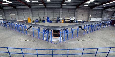 Facebook dévoile son système de drones pour l'accès à Internet | Actualité des médias sociaux | Scoop.it
