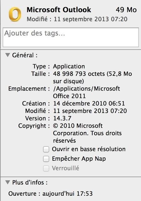 Désactiver totalement App Nap sous Mavericks, sur MacBidouille.com | Mac & iPhone | Scoop.it