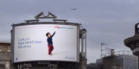 These Awesome Interactive Billboards Point To Planes Flying Overhead In Real Time | Digital-News on Scoop.it today | Scoop.it