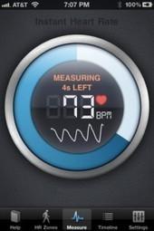Instant Heart Rate, votre rythme cardiaque n'aura plus aucun secret ! | Course à pied et fitness | Scoop.it