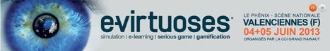 e-virtuoses - dedicated to Serious game, Simulation, Elearning and Gamification. 4th and 5th of June 13   Belle de Mai   Scoop.it