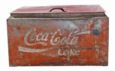 Collection de boite en fer - Antiquaires en ligne ...