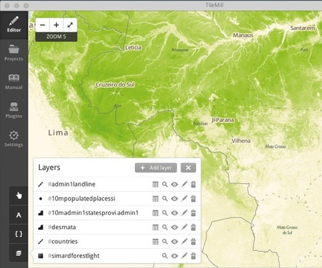 Interactive Maps Design Builder: TileMill | Bookmarked Web Links with ENSC Knight-Time Tech | Scoop.it
