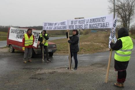 Lisle-sur-Tarn. Sivens : l'expulsion menace mais le projet reste reporté - LaDépêche.fr | L'actualité tarnaise 2014 | Scoop.it