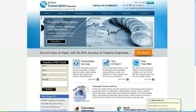 Hi-Tech Transcription Services, India | CrunchBase Profile | Transcribers-India | Scoop.it