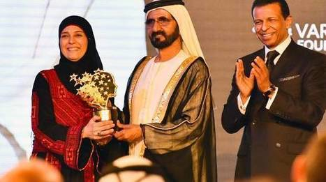 Palestinian teacher wins $1 million Global Teacher Prize in Dubai | Edu Tools for Al-Huda Teachers | Scoop.it