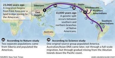 Researchers suggest another ancestry for Native Americans - Boston Globe | Family History | Scoop.it