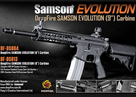 Deep Fire Samson Evolution AEGs Released | Popular Airsoft | Airsoft Showoffs | Scoop.it