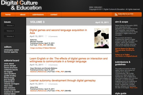 Digital Culture & Education | Social e-learning network | Scoop.it