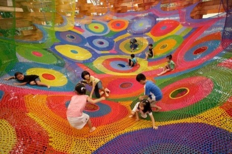 More Playground Crochet from Toshiko Horiuchi MacAdam | Urban Life | Scoop.it