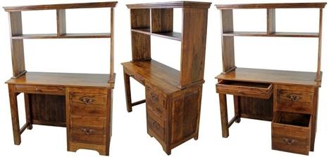 San Miguel Student Rustic Desk   Mexican Furniture & Decor   Scoop.it