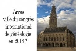 Arras accueillerait le Congrès international de généalogie en 2018   Rhit Genealogie   Scoop.it
