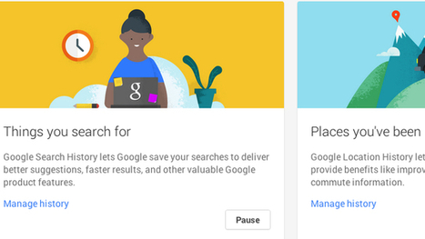 Google's New Account History Page Helps Further Control Your Privacy | iGeneration - 21st Century Education | Scoop.it
