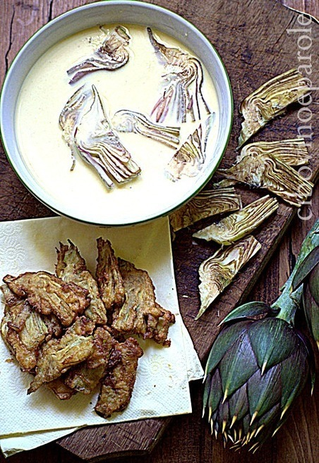 CIBO VINO E PAROLE ...: Carciofi in pastella | FOOD BLOG | Scoop.it