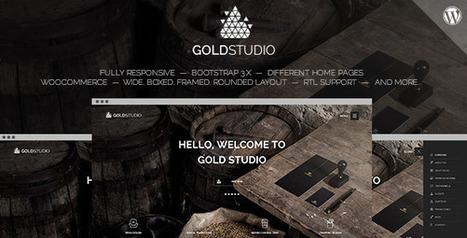 Gold | Creative Wordpress Theme (Creative) | Creative Wordpress Theme | Scoop.it