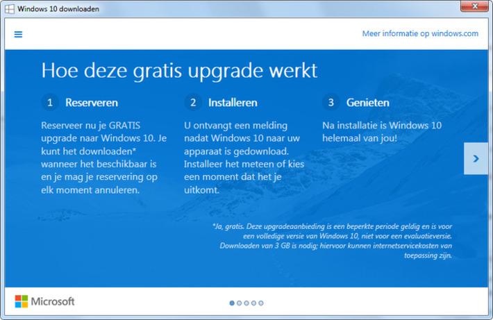 Windows 10 komt op 29 juli, nu alvast een gratis exemplaar reserveren | WebSonic.nl | Educatief Internet - Gespot op 't Web | Scoop.it
