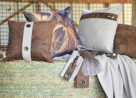 Coussin imprimé cowboy | Le linge de maison Douceur de France | Scoop.it