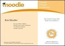 Moodle Certificates | Moodling | Scoop.it