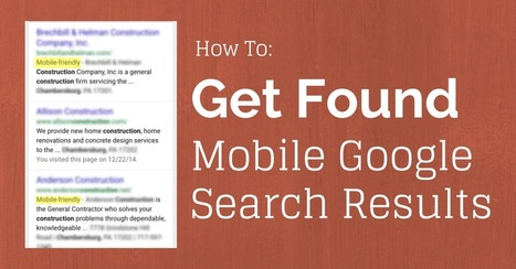 How to Get Found in Mobile Google Search Results | Simple Local Business | Scoop.it
