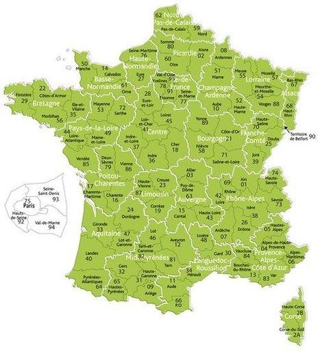 Carte des généablogueurs | Genéalogie | Scoop.it