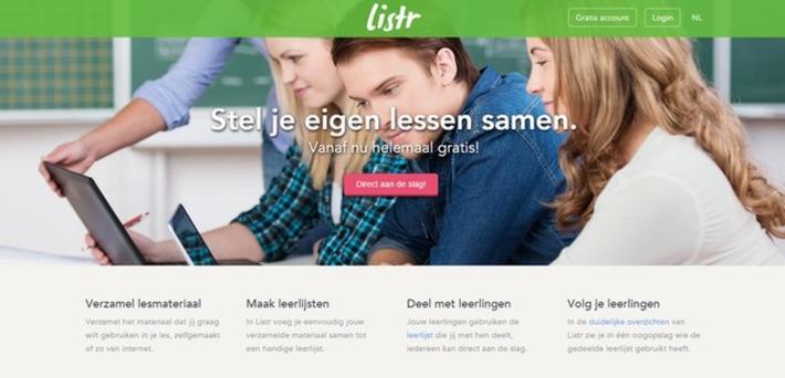 Edu-Curator: Listr: gratis online tool om lessen te maken en te delen met jouw leerlingen | Educatief Internet - Gespot op 't Web | Scoop.it