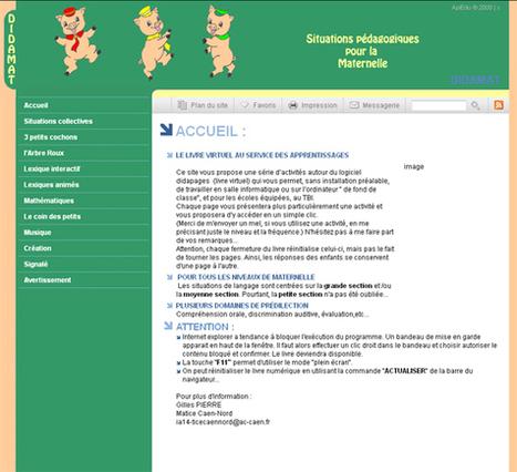 DIDAMAT : livres interactifs d'activités en maternelle (Ordi et/ou TBI) | | philosophie pour enfants, contes philosophiques, contes pour enfants | Scoop.it