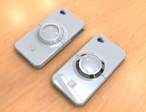 Sleek Case Transforms iPhone 4 into Futuristic-looking Camera | Photography Gear News | Scoop.it