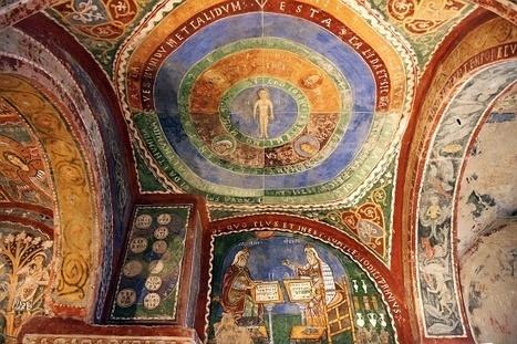 Photo: Crypt Fresco: Medieval Science, Anagni Cathedral, Italy | Ciencia y Filosofía Medieval | Scoop.it