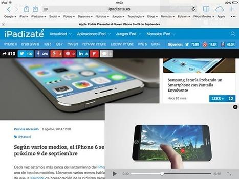 5 Métodos para Conseguir Multitarea Real en tu iPhone, iPad y iPad Mini   Comunicaciencia   Scoop.it