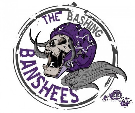 Le nouveau logo des Bashing Banshees Roller Derby Argenteuil ... | Derby News | Scoop.it
